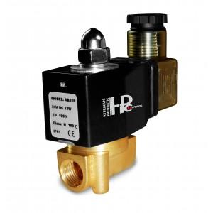 Supapă electromagnetică 2N08 1/4 230V sau 24V, 12V Viton - rezistent la substanțe chimice