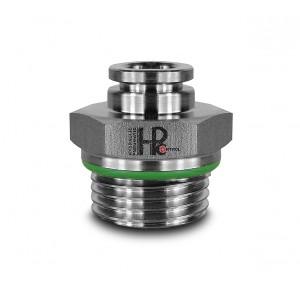 Plug de prindere furtun din oțel inoxidabil drept filet 10mm 3/8 inch PCS10-G03
