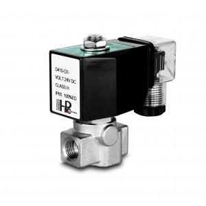 Supapă solenoidală de înaltă presiune HP15-M din oțel inoxidabil SS304 110 bar