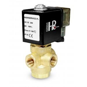 Supapă solenoid 3-cai 3V 3x1 / 4 inch 230V 24V 12V