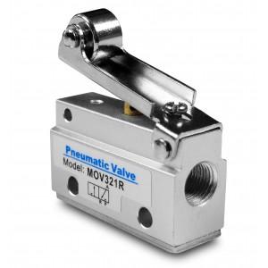 Supapă manuală 3/2 MOV321R servomotoare de 1/8 inch