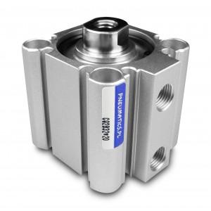 Cilindri pneumatici compacti CQ2 20x10