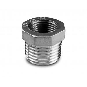 Reducere din oțel inoxidabil 1/2 - 1/4 inch