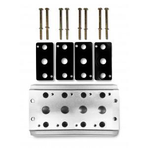 Plăcuța colectoare pentru conectarea seriei 4 valve 4V2 4A, grup 5/2 5/3