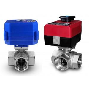 3-way valve 1 inch cu servomotor A80 sau A82