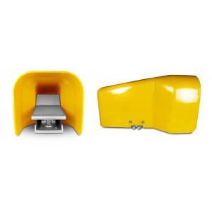 Supapă pedală, pedală de aer 5/2 1/4 inch pentru cilindru 4F210G - monostabil cu capac