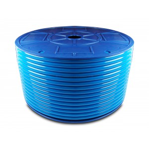 Furtun pneumatic de poliuretan PU 10 / 6.5 mm 1m albastru