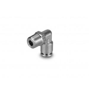 Furtun din oțel inoxidabil cu filet din oțel inoxidabil cu filet de 10 mm 1/4 inch PLSW10-G02