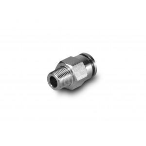 Plug de prindere furtun din oțel inoxidabil drept filet 8mm 1/8 inch PCSW08-G01