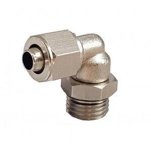 Fitinguri rapide pentru tub 6/4 cu cot filet 1/8 inch RPL 6/4-G01