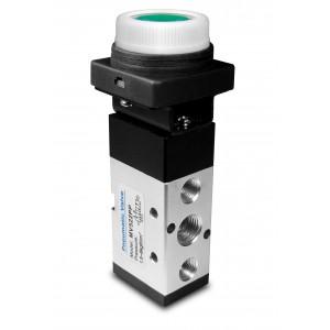 Supapă manuală 5/2 MV522PP Actuatori de 1/4 inch