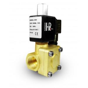 Valva electromagnetică deschisă 2K15 NO 1/2 inch 230V sau 12V 24V