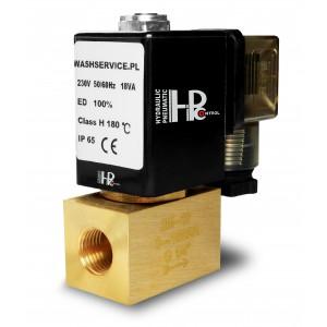 Supapă electromagnetică 2M08 1/4 inch 0-16bar 230V 24V 12V