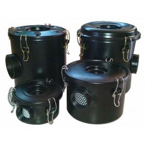 Filtru de aer cu carcasă pentru pompa de aer vortex, suflantă cu canal lateral, 1 1/4 inch