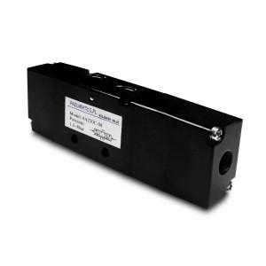 Valvă controlată pneumatic 5/3 4A230C 1/4 inch