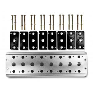 Plăcuța colectoare pentru conectarea a 8 supape 1/4 seria 4V2 Terminal de grup 4A 5/2 5/3
