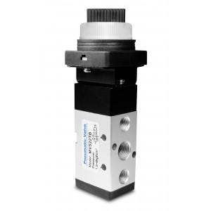 Supapă manuală 5/2 MV522TB Servomotoare de 1/4 inch