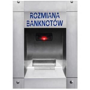 Schimbător de bani de la bancnote la monede