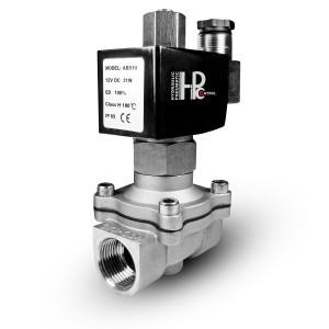 Robinet solenoid deschis 2N25 NO 1 inch oțel inoxidabil SS304 Viton