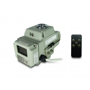 Robinet electric servomotor A1600 230V AC 160Nm control 4-20mA