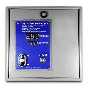 Electronic Inflația automată a anvelopei pentru montarea pe versiunea fără perete