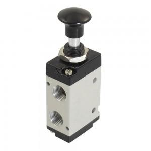 Vană manuală presată 5/2 4L210 1/4 inch pentru servomotoare