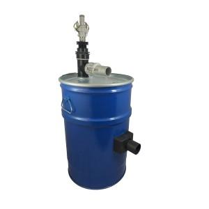 Rezervor aspirator 60l cu curățarea filtrului de aer comprimat