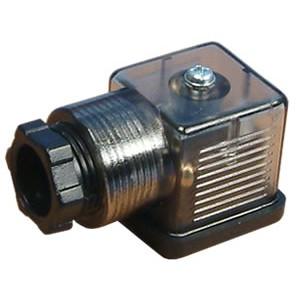 Conectați la supapa solenoidală 18mm DIN 43650 cu LED