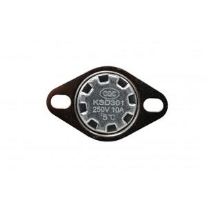 Termostat bimetal, senzor de temperatură NC 5 ℃ 10A 230VAC tip KSD301