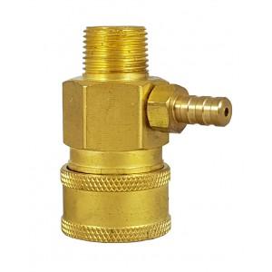 Conector rapid de înaltă presiune 3/8 inch cu injector de aspirație chimie