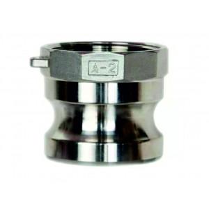 Conector Camlock - tip A DN 2 SS316 de 2 inci