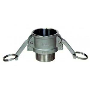 Conector Camlock - tip B 3/4 inch DN20 SS316