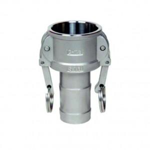 Conector Camlock - tip C 1/2 inch DN15 SS316