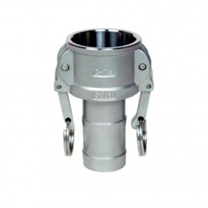 Conector Camlock - tip C 1 inch DN25 SS316